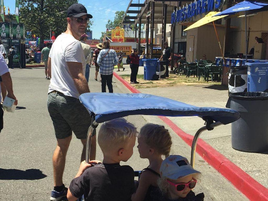 James Van Der Beek und seine Kinder