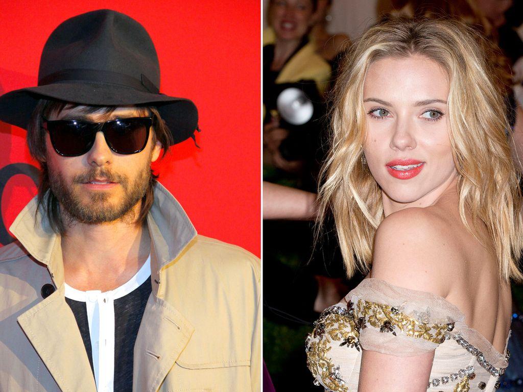 Jared Leto und Scarlett Johansson