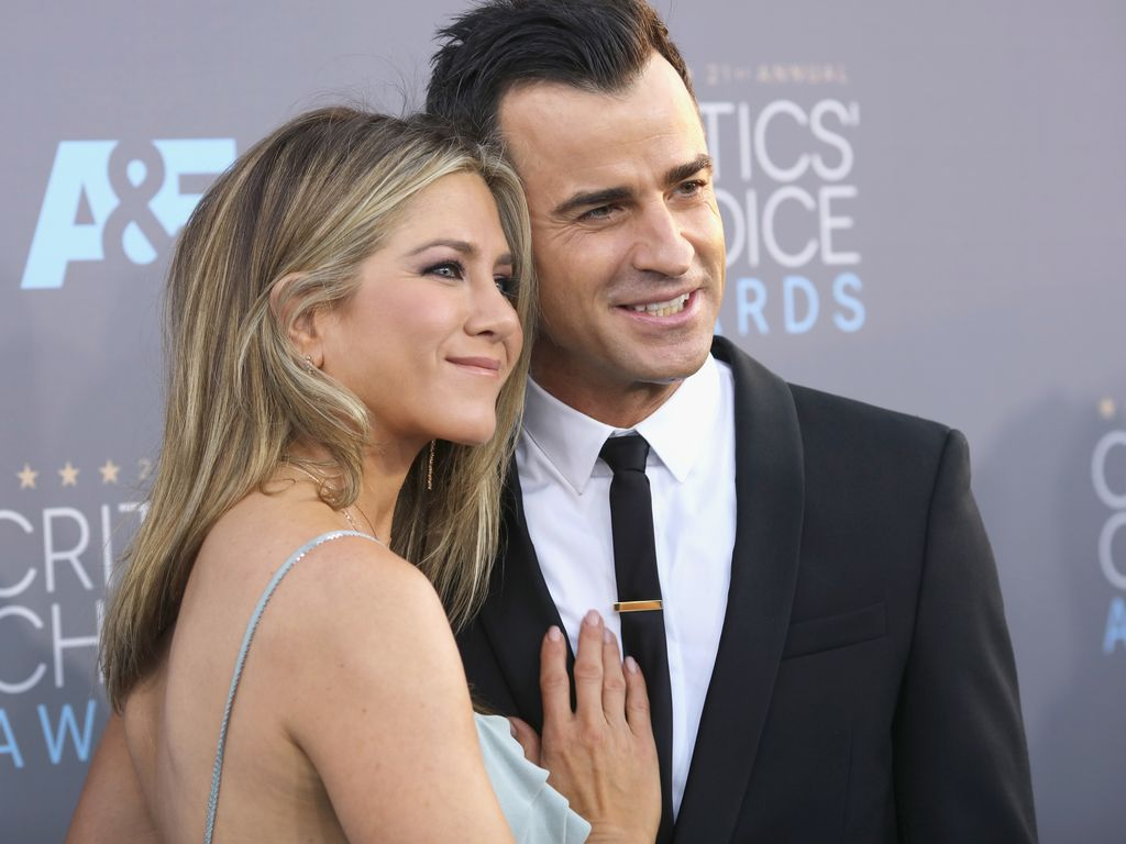 "Jennifer Aniston und Ehemann Justin Theroux bei den ""Critics' Choice Awards"" 2016 in Santa Monica"