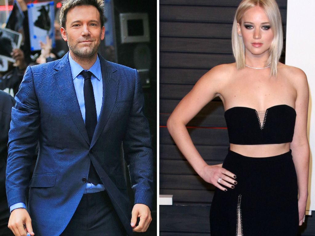 Ben Affleck und Jennifer Lawrence