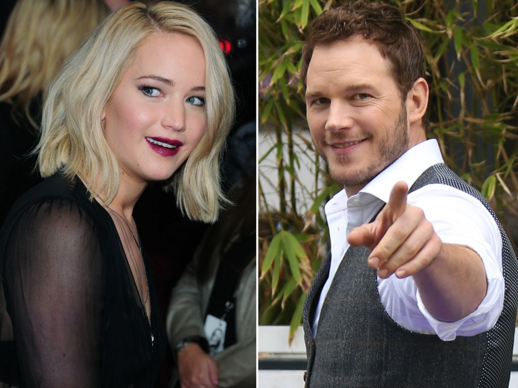 Jennifer Lawrence und Chris Pratt