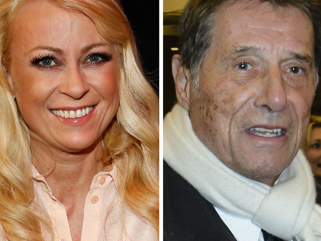 Jenny Elvers und Udo Jürgens