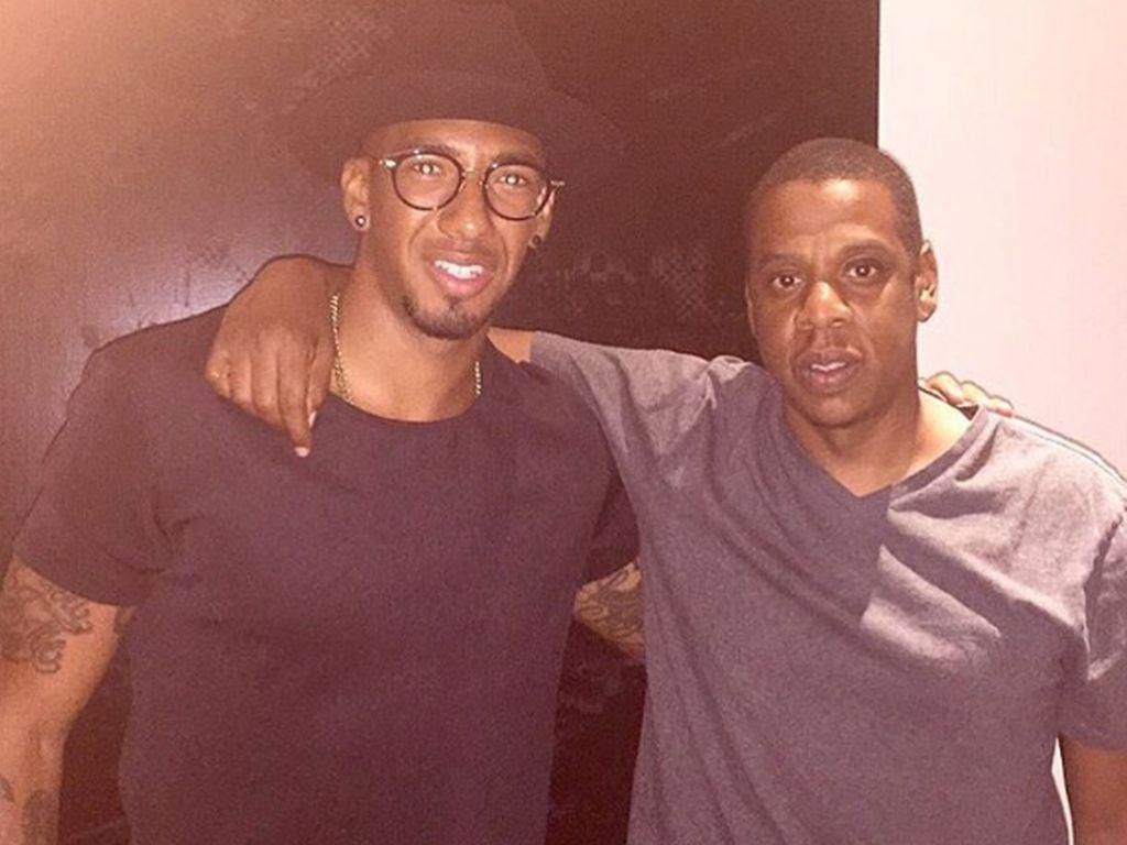 Jerome Boateng und Jay-Z in New York
