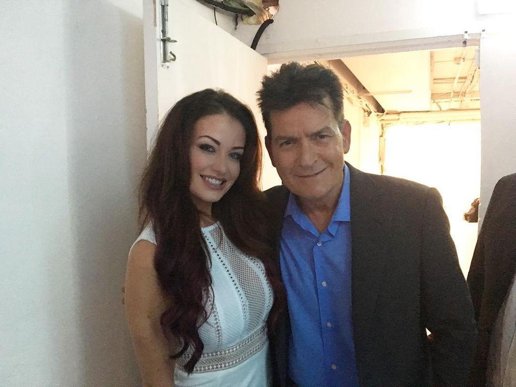 Jess Impiazzi und Charlie Sheen