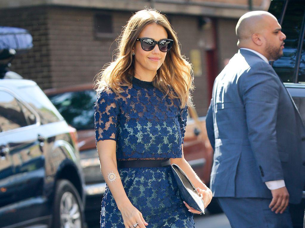 Jessica Alba beim Shoppen in New York