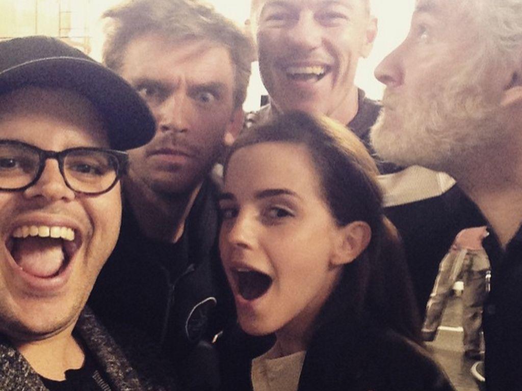 Emma Watson und Josh Gad