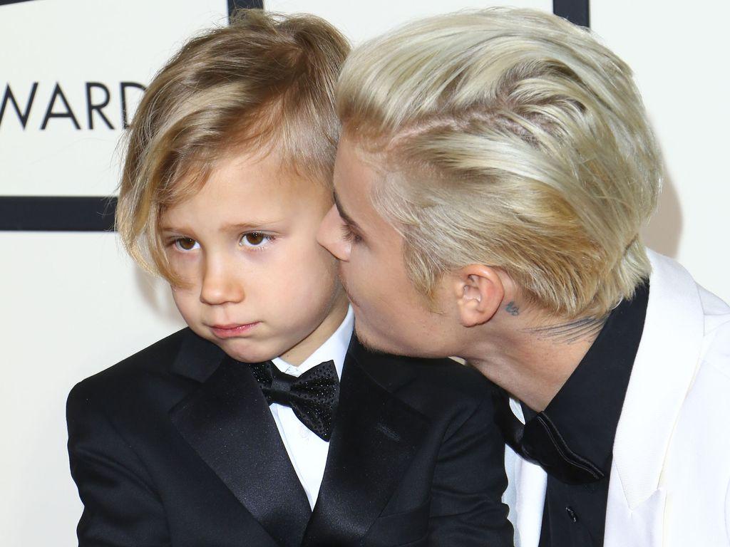 Justin Bieber und Jaxon Bieber