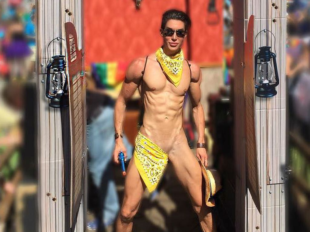 Justin Jedlica bei der Atlanta Pride 2016