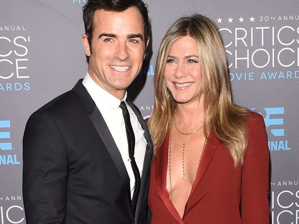 "Jennifer Aniston und Justin Theroux bei den ""Critics' Choice Awards"""