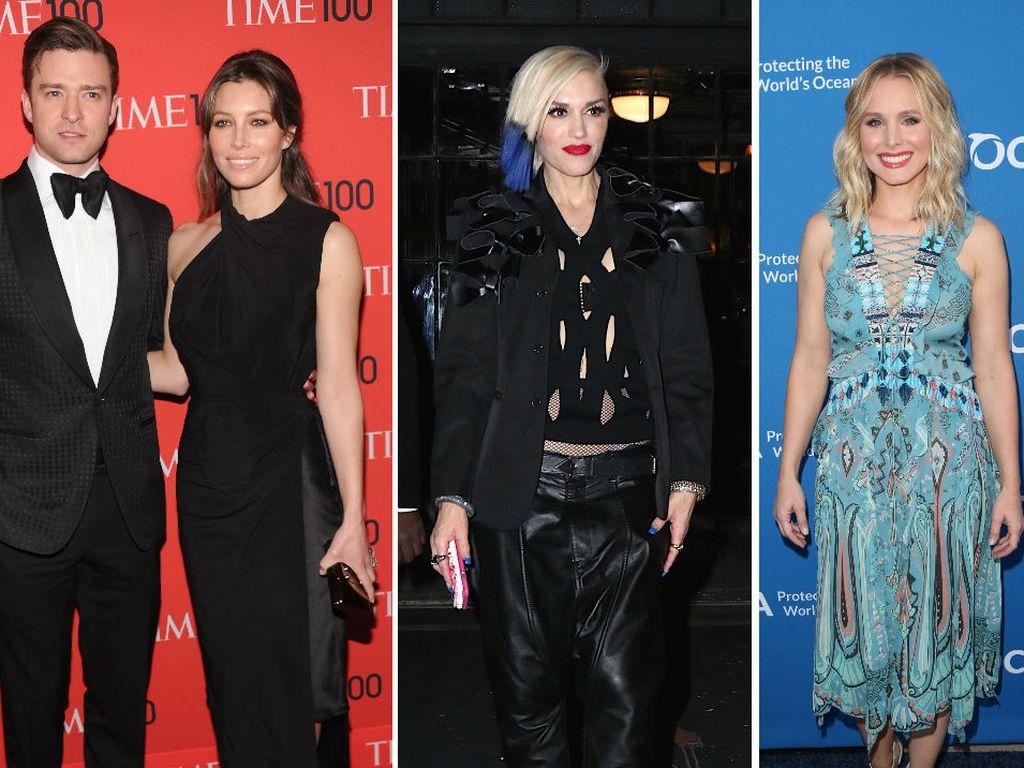 Gwen Stefani, Justin Timberlake, Jessica Biel und Kristen Bell