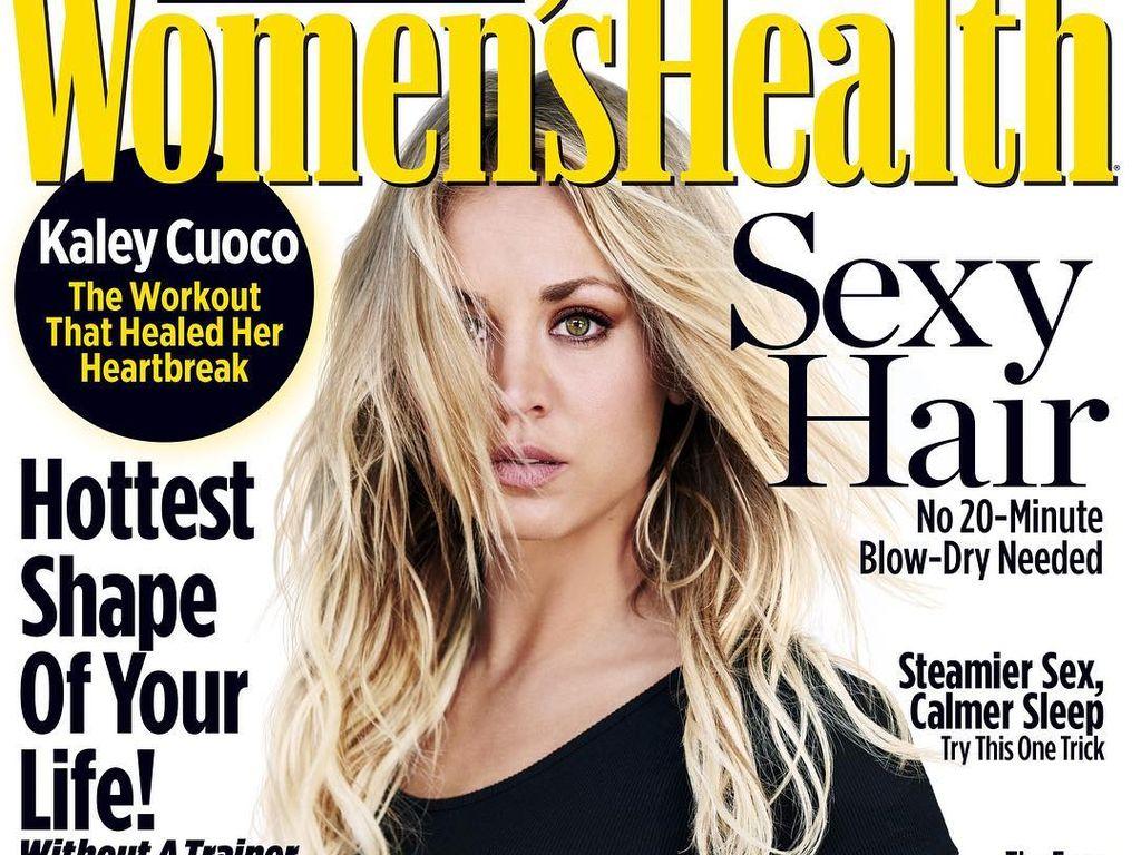 Kaley Cuoco auf dem Cover der Women's Health, Ausgabe Dezember 2016