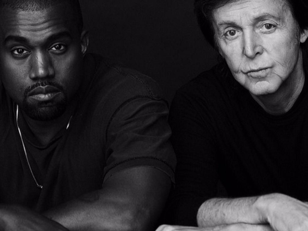 Kanye West und Paul McCartney