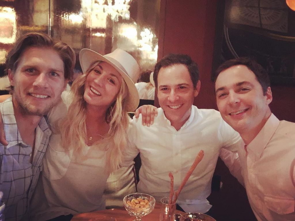 Karl Cook, Kaley Cuoco, Todd Spiewak, Jim Parsons