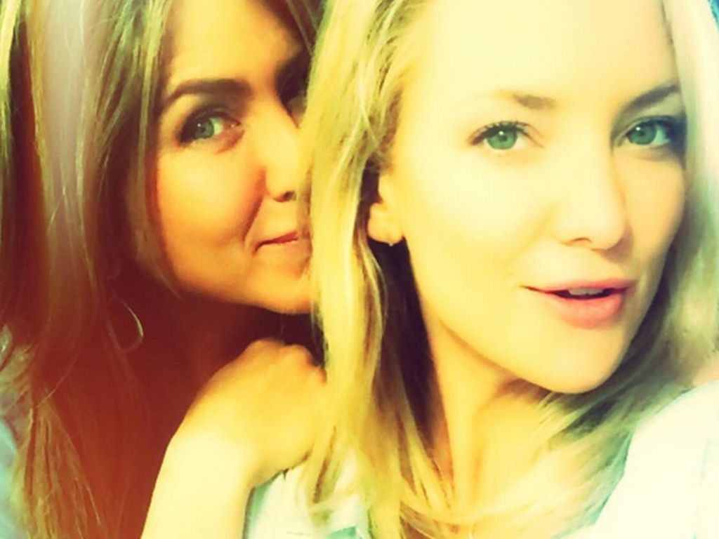 Jennifer Aniston und Kate Hudson