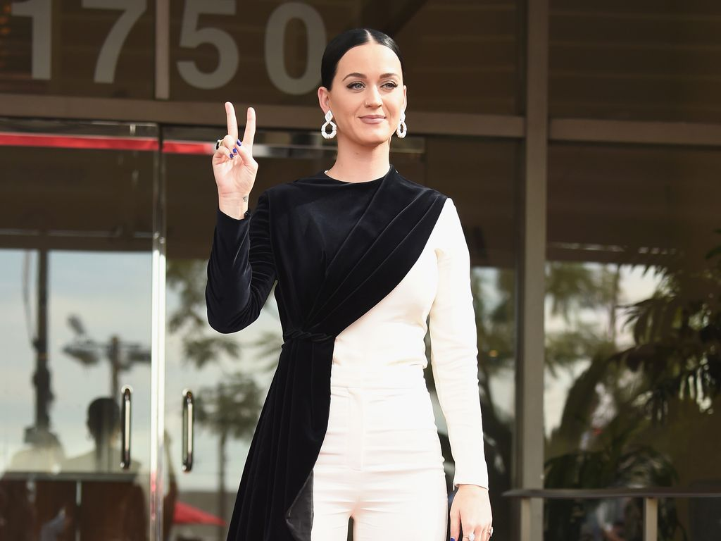 Katy Perry auf dem Walk of Fame in Los Angeles