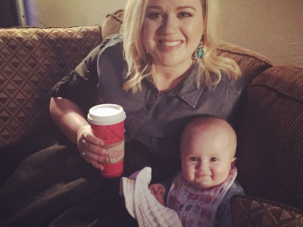 Kelly Clarkson und River Rose Blackstock