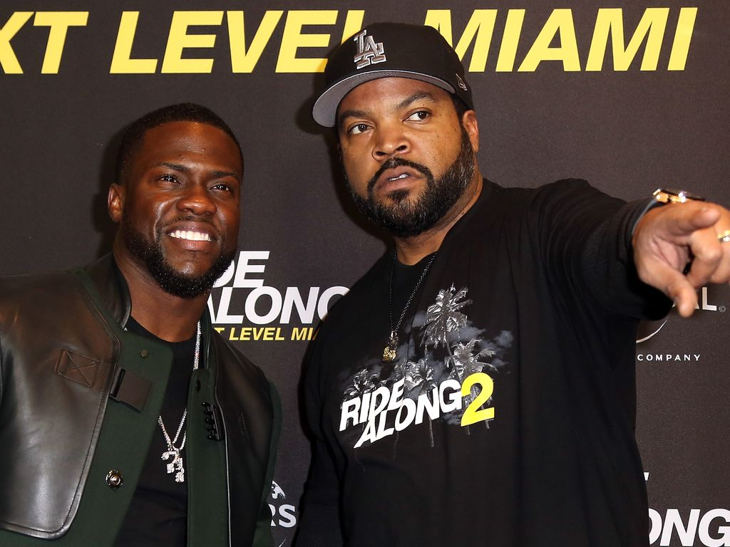 Kevin Hart und Ice Cube