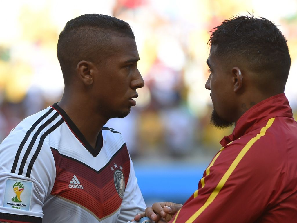 Jérôme Boateng und Kevin Prince Boateng