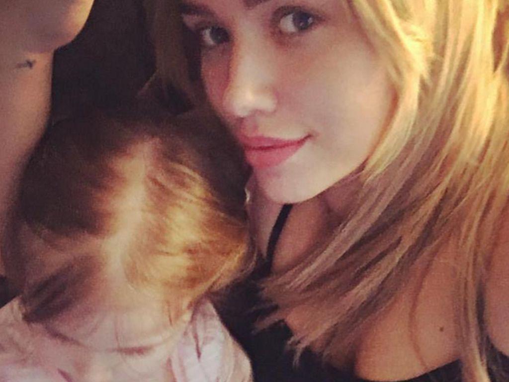 Kim Debkowski und ihre Tochter Amelia
