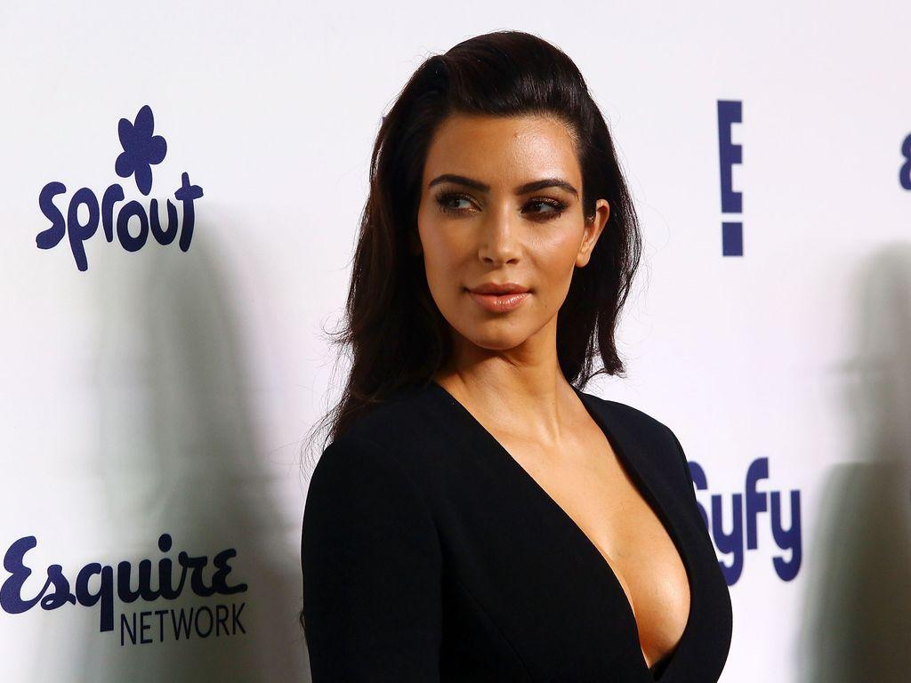 Kim Kardashian bei einem Event in New York