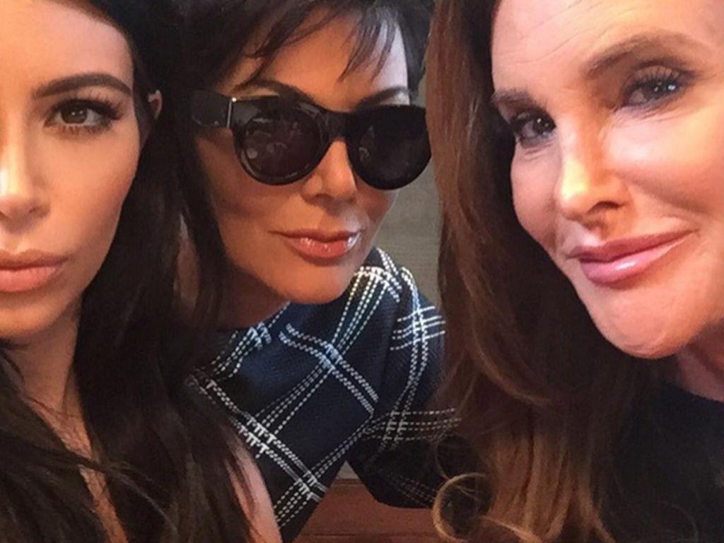 Kim Kardashian, Kris Jenner und Caitlyn Jenner