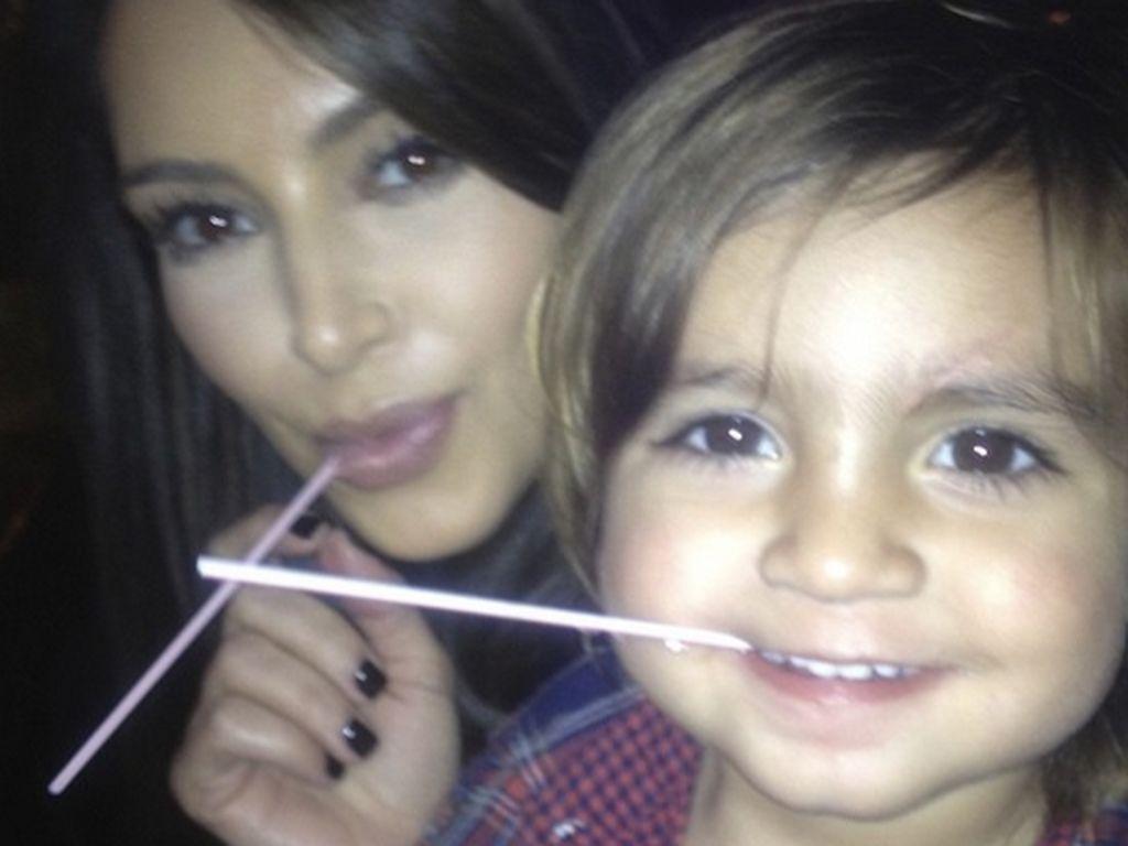 Kim Kardashian und Mason Disick