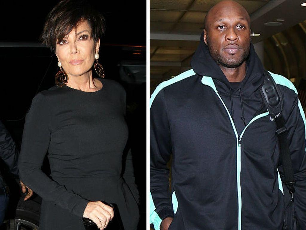Lamar Odom und Kris Jenner