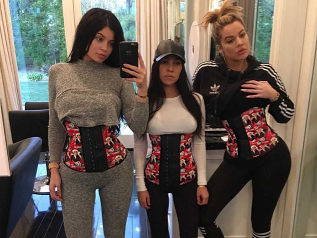 Khloe Kardashian, Kylie Jenner und Kourtney Kardashian