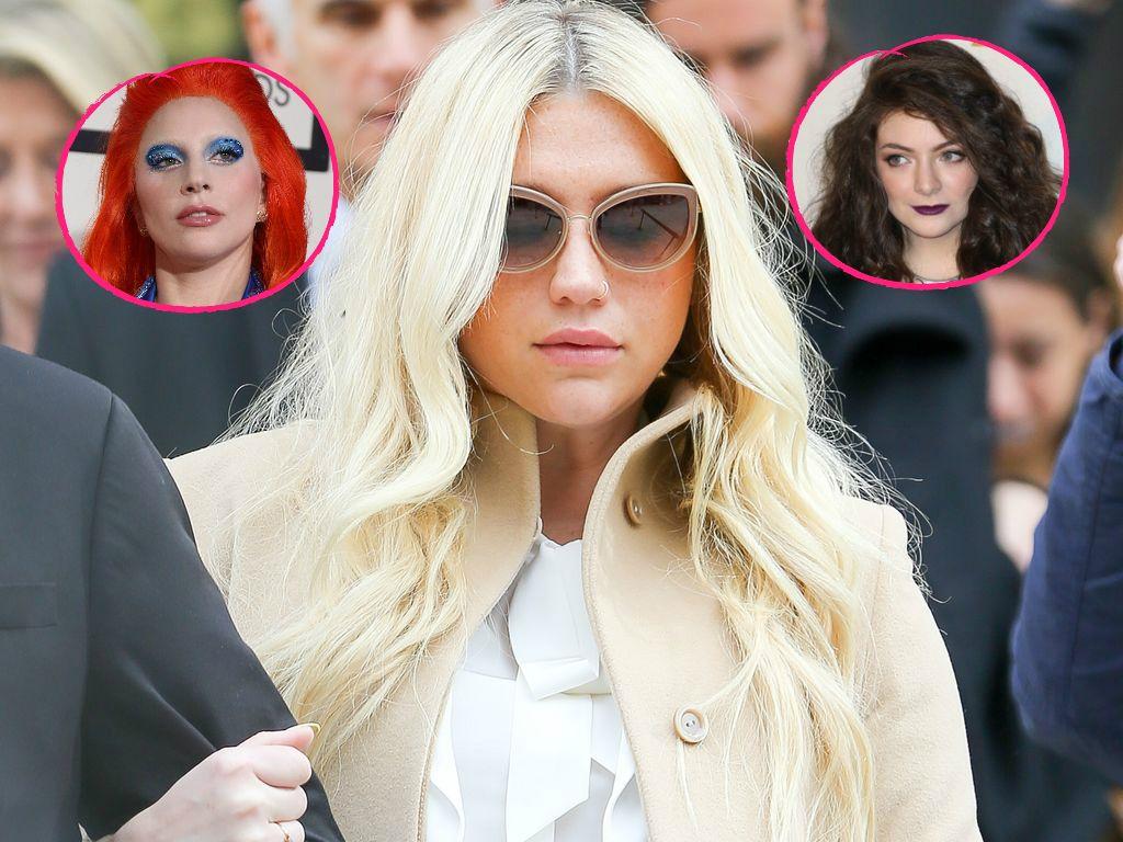 Lady GaGa, Kesha und Lorde