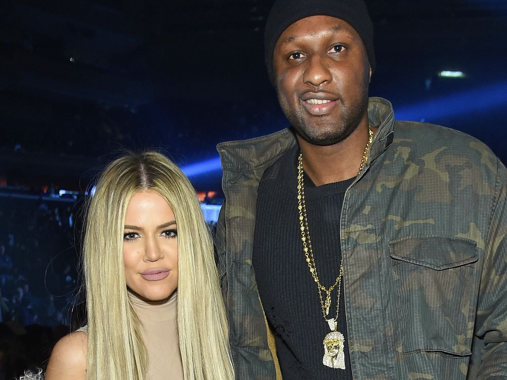 "Khloe Kardashian und Lamar Odom bei Kanye Wests ""Yeezy""-Fashion-Show"