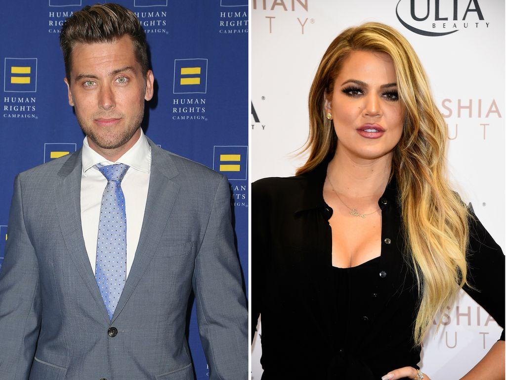 Khloe Kardashian und Lance Bass