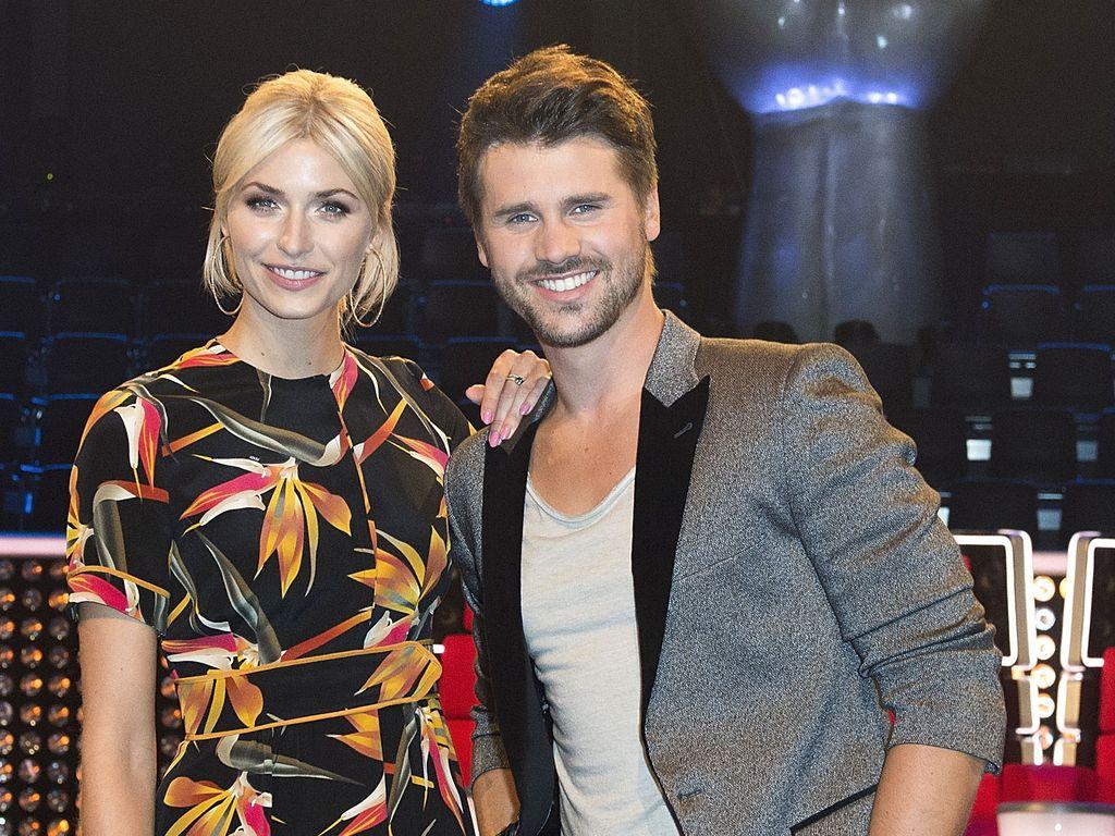 Lena Gercke und Thore Schölermann im TVOG-Studio