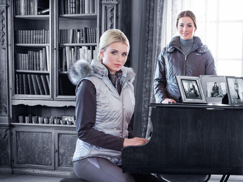 Scarlett Gartmann und Lisa Müller
