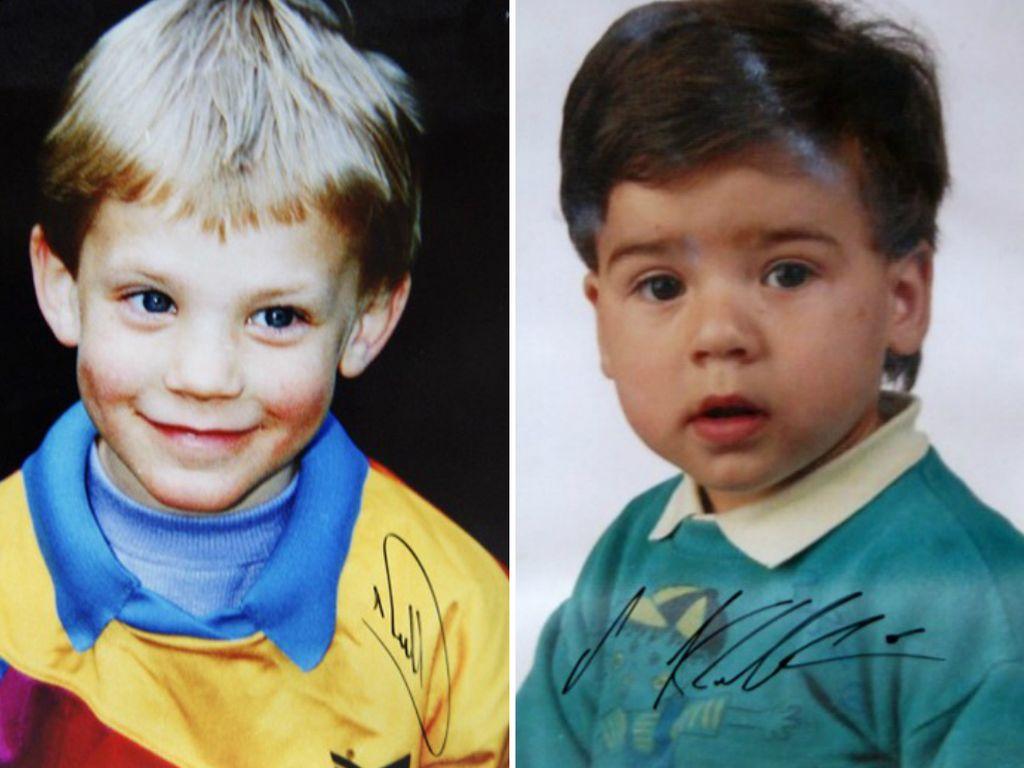 Manuel Neuer und Sami Khedira als Kinder