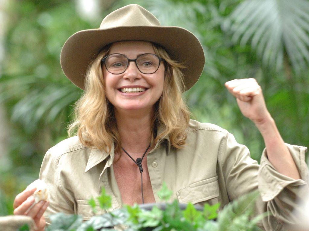 Maren Gilzer im Dschungelcamp 2015