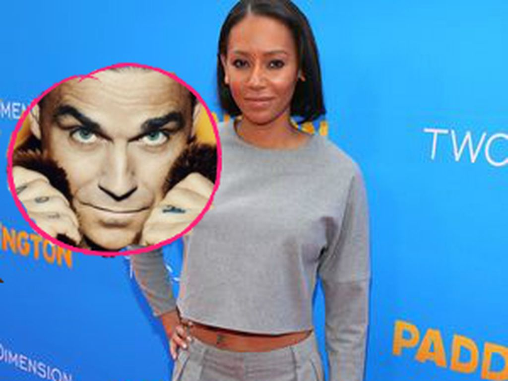 Mel B. und Robbie Williams