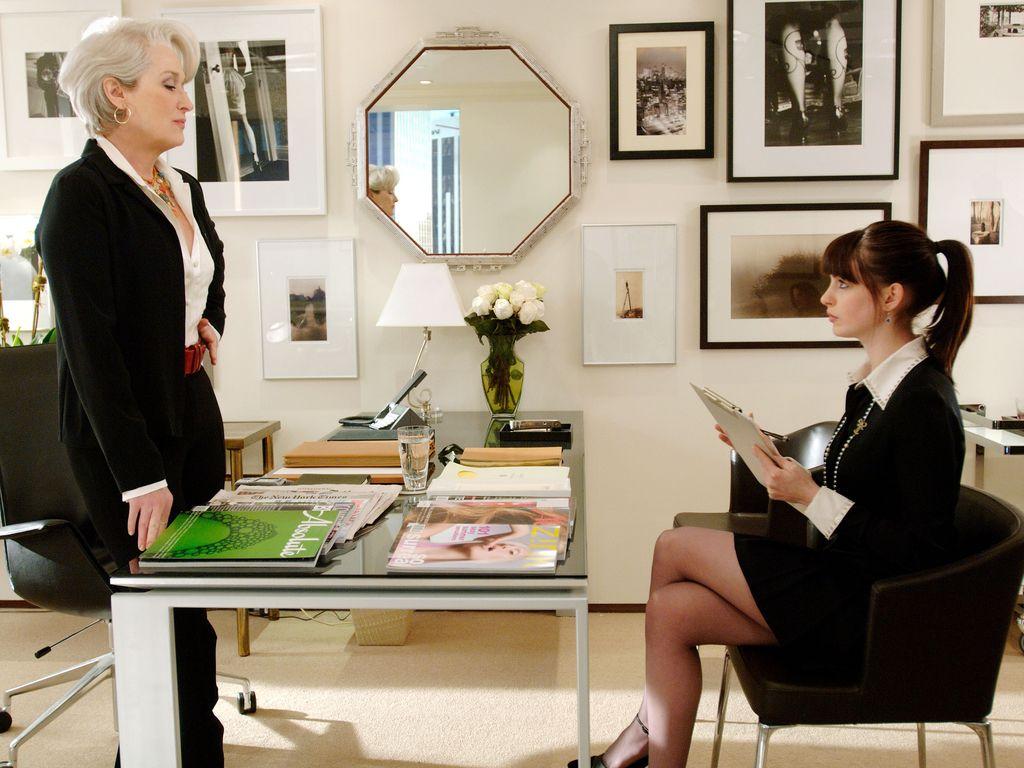 Anne Hathaway und Meryl Streep