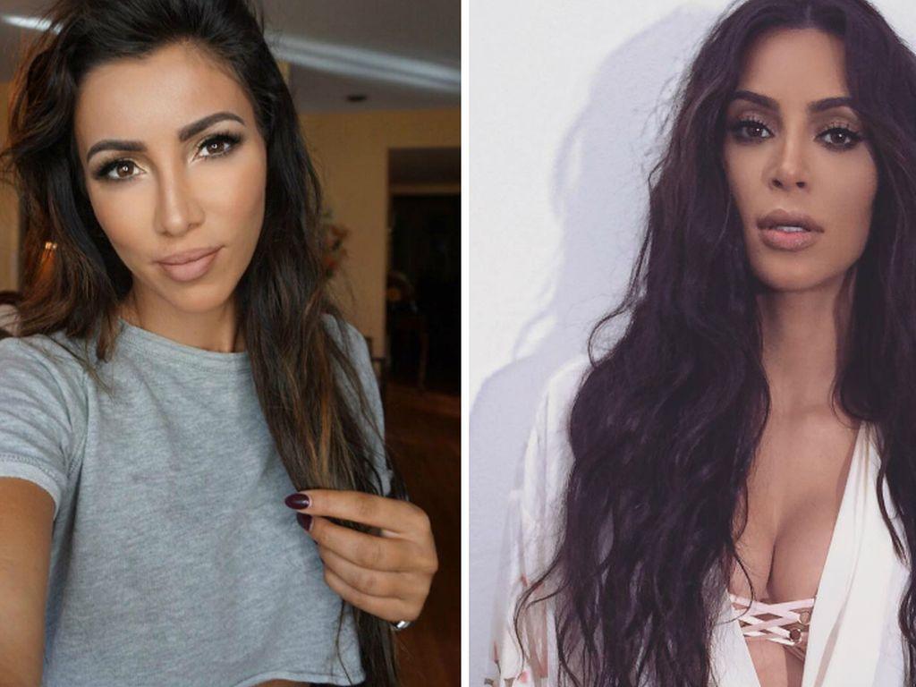 Metisha Schäfer und Kim Kardashian