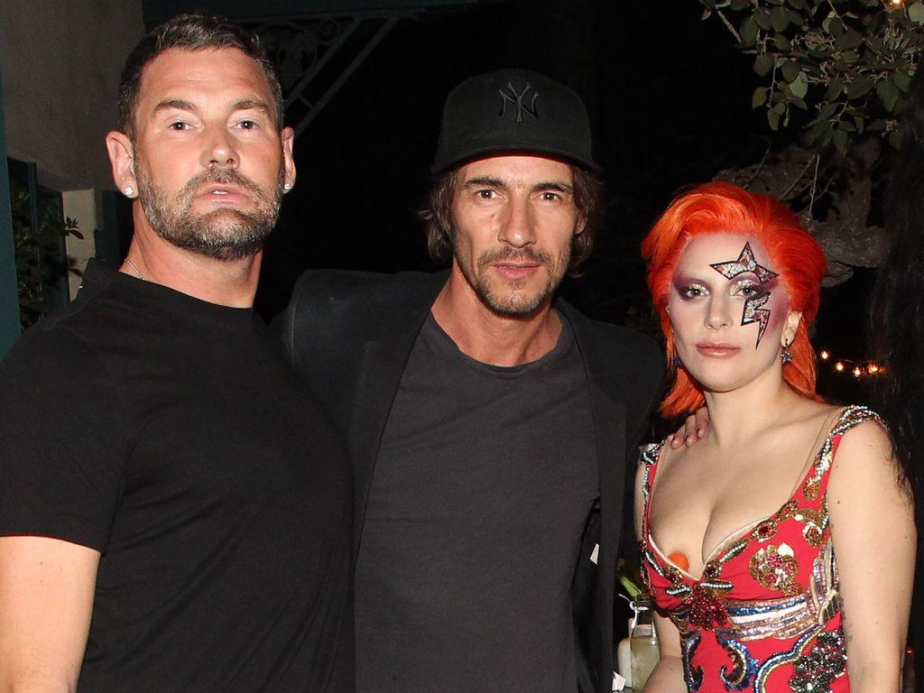 Lady GaGa, Thomas Hayo und Michael Michalsky