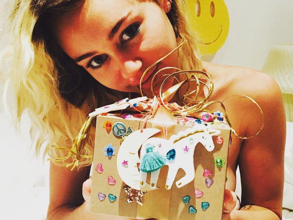 Miley Cyrus an ihrem Geburtstag