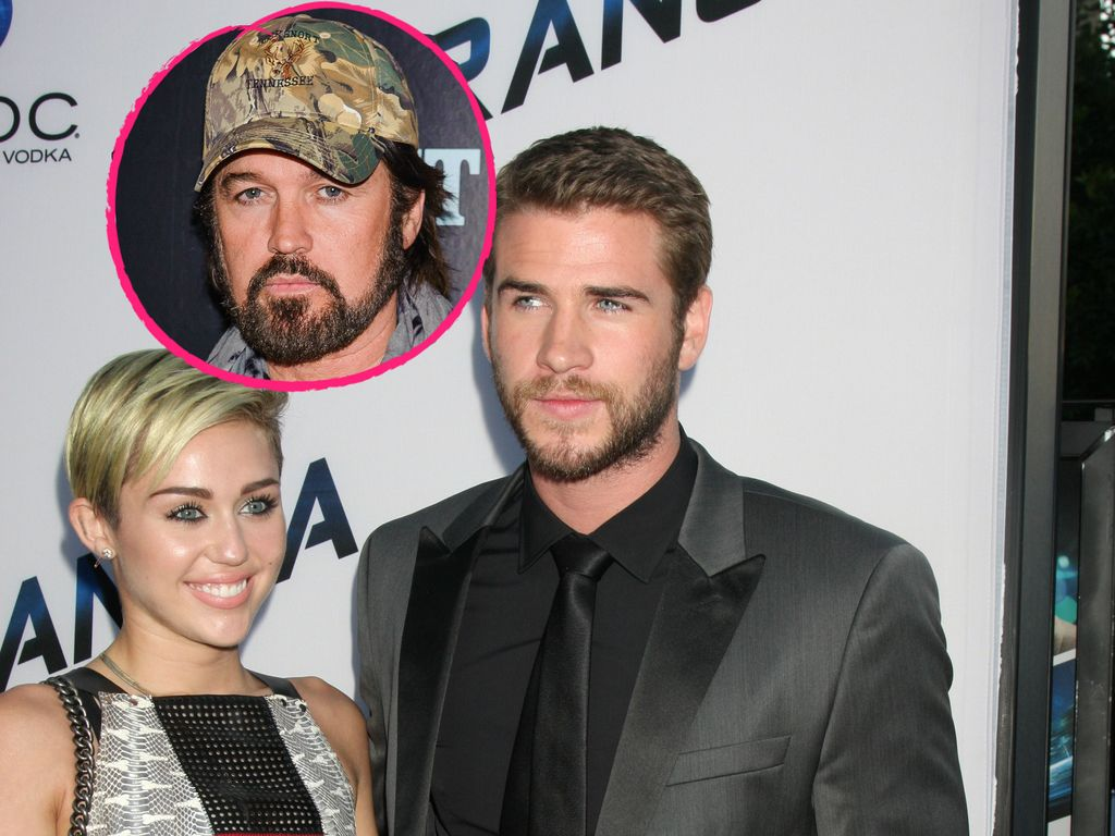 Liam Hemsworth, Miley Cyrus und Billy Ray Cyrus