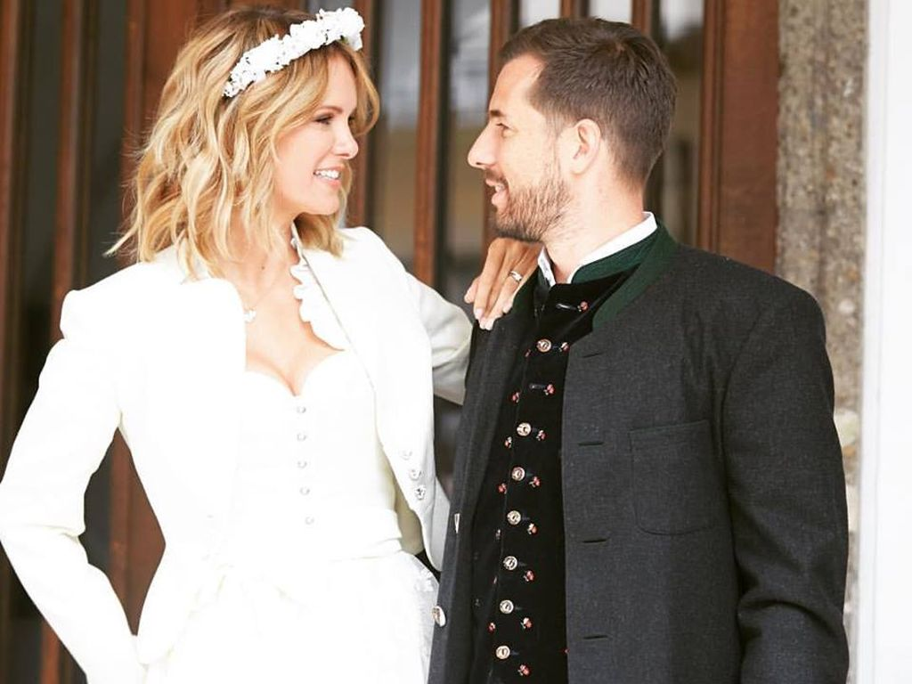 Monica Ivancan und Ehemann Christian Meier