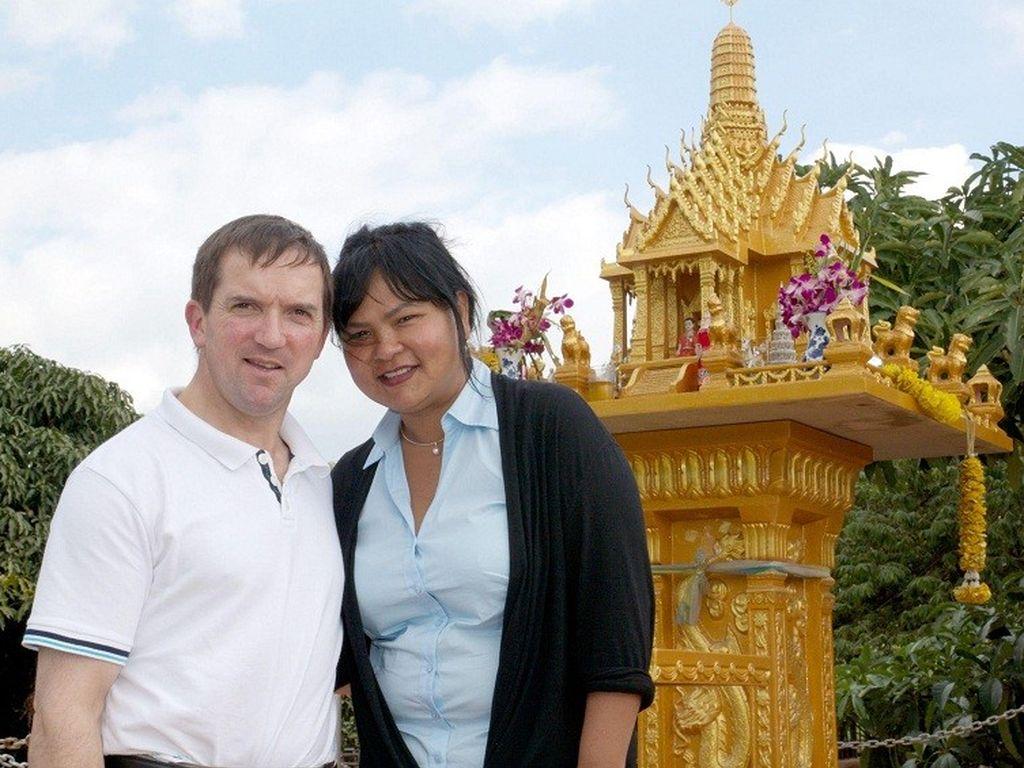 Narumol und Josef in Thailand