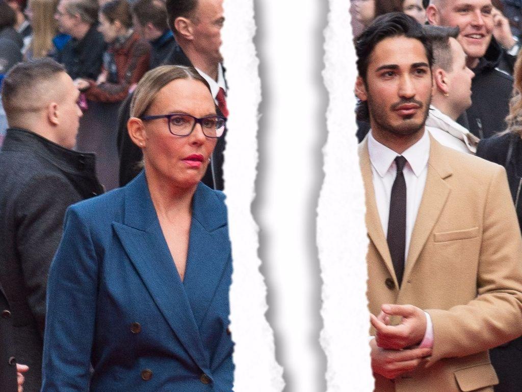Natascha Ochsenknecht und Umut Kekilli im April 2016 auf einer Filmpremiere in Berlin
