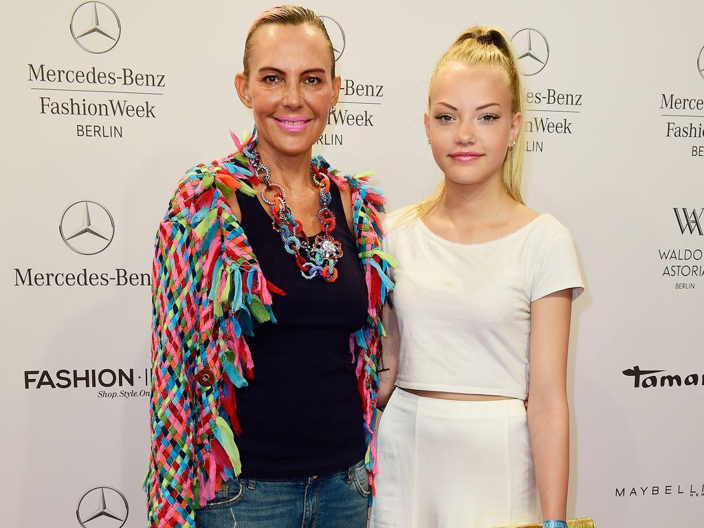 Natascha und Cheyenne Ochsenknecht auf der Berlin Fashion Week