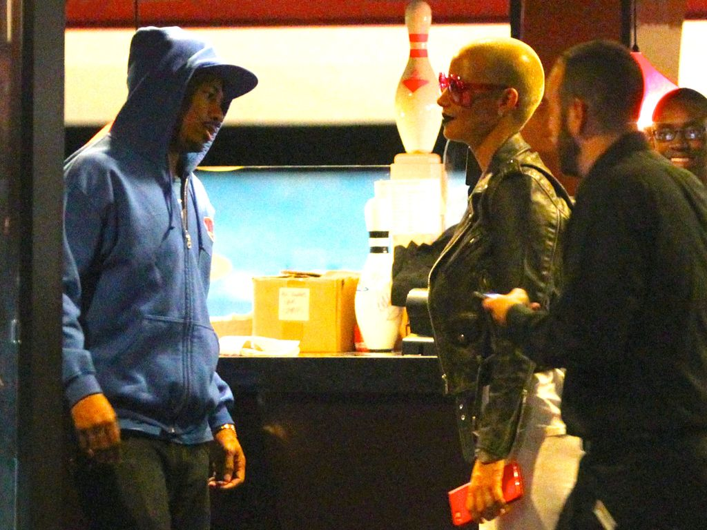 Amber Rose und Nick Cannon