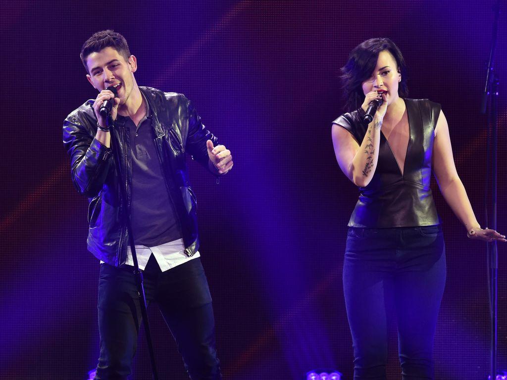 Nick Jonas und Demi Lovato