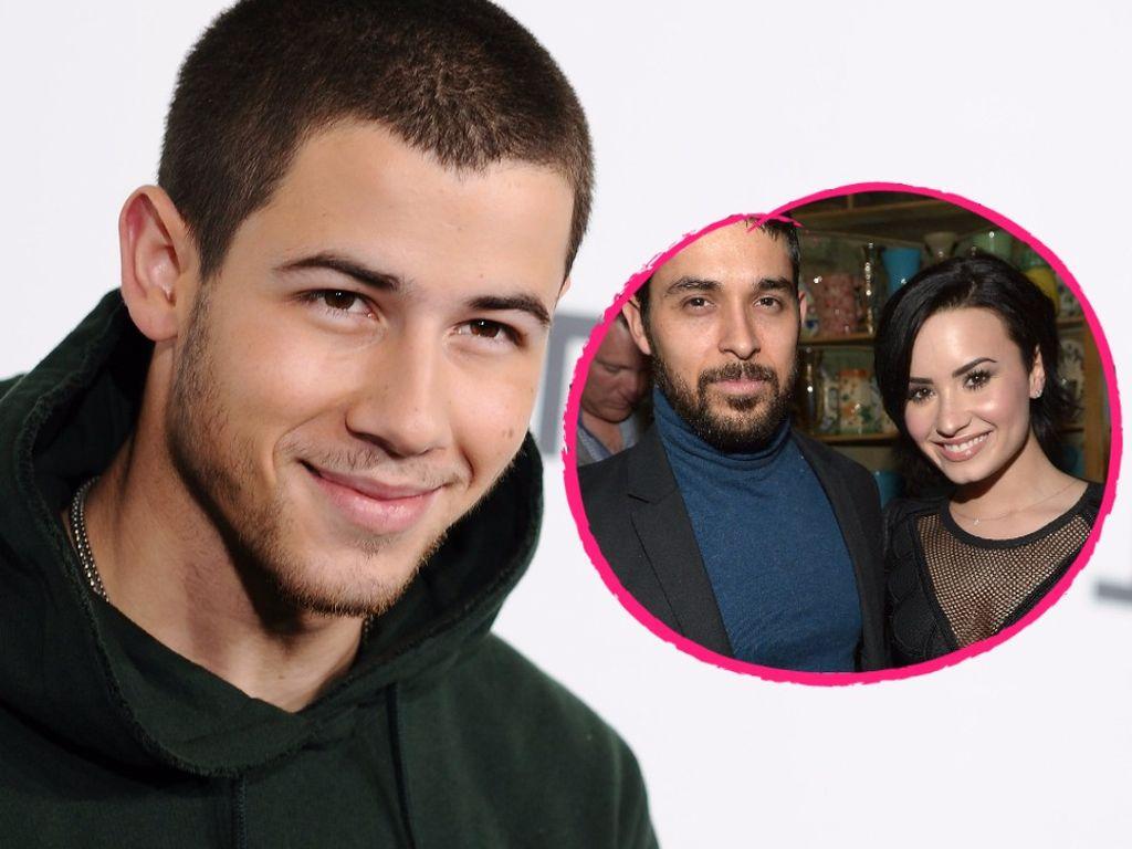 Nick Jonas, Wilmer Valderrama und Demi Lovato
