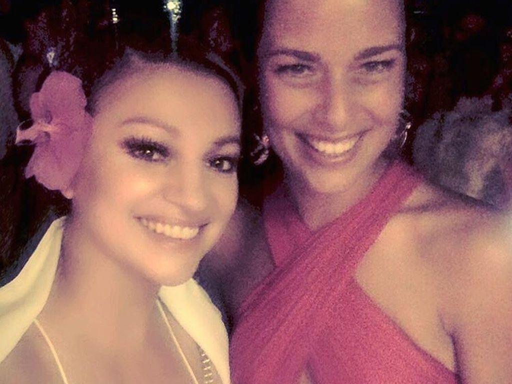 Nina Badric und Ana Ivanovic bei der Hochzeitsfeier in Venedig
