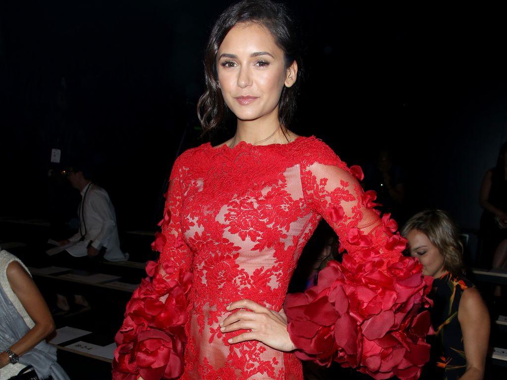 Nina Dobrev auf der New York Fashion Week